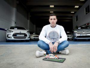 Christian garcía, campeón de España de Rallyes